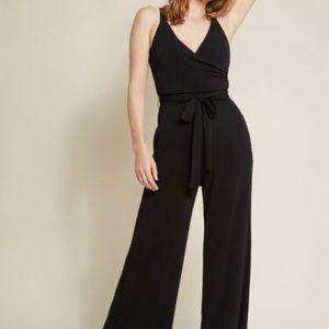 ModCloth black jumpsuit